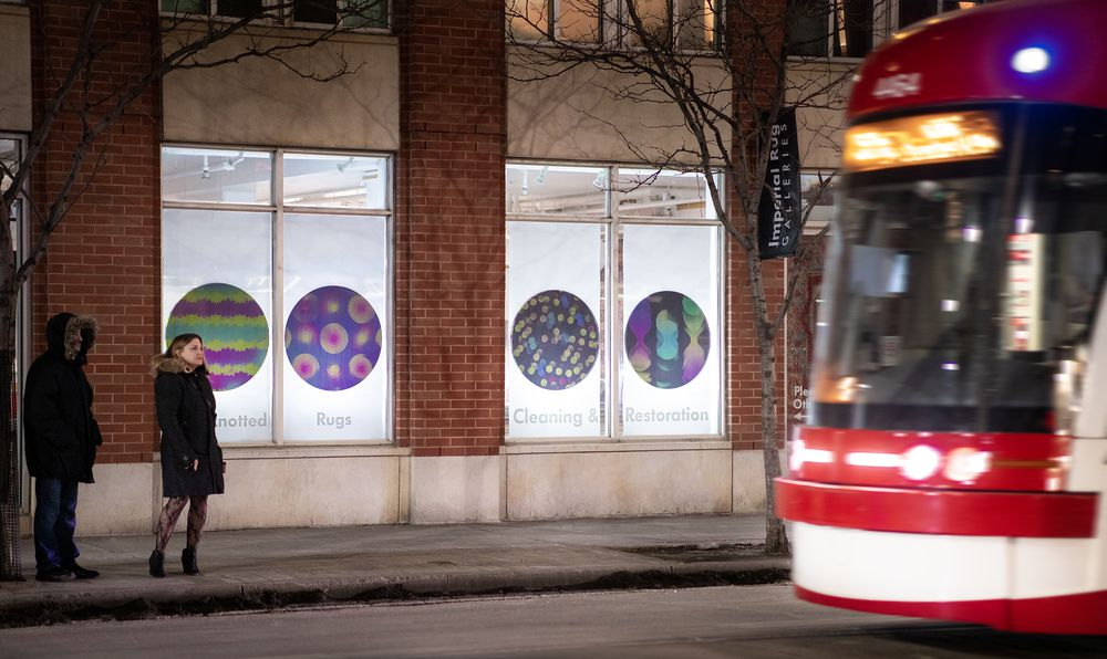 Colours and Patterns in Motion at DesignTO