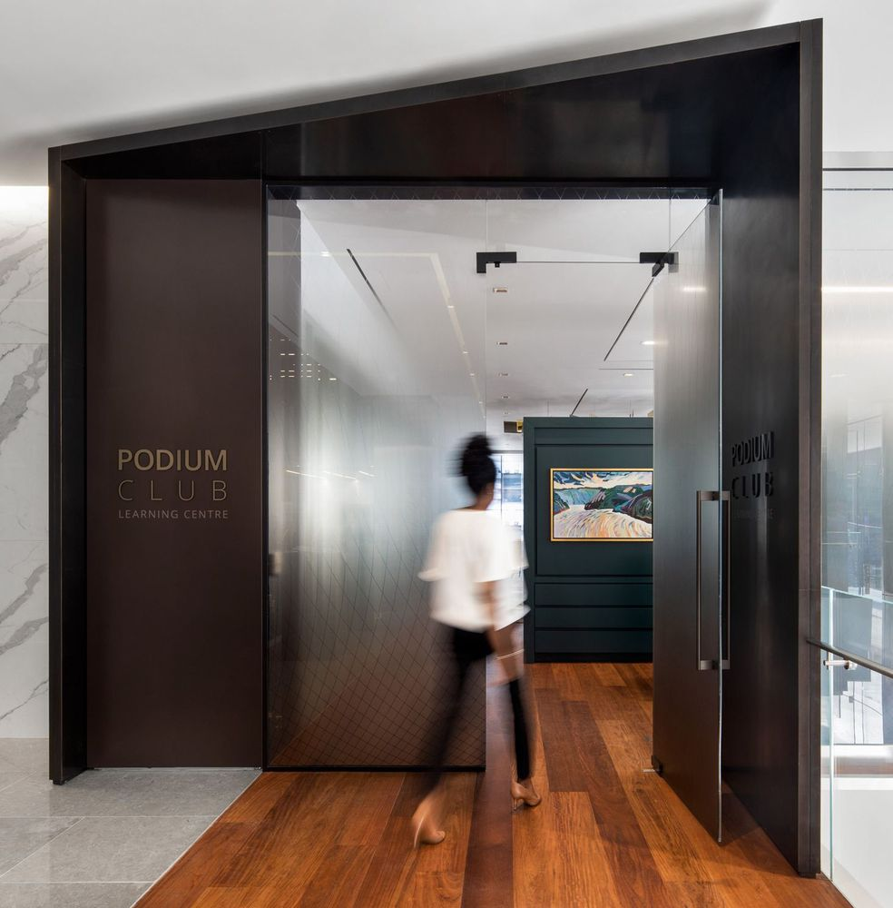 Deloitte Podium Club, A Business Sanctuary
