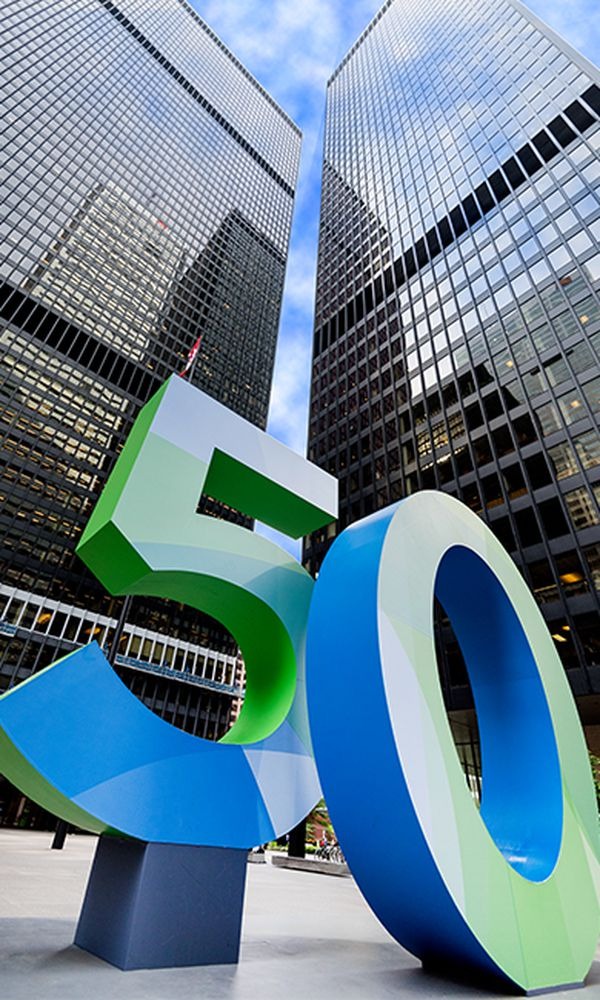 TD Centre: 50th Anniversary Celebratory Exhibit